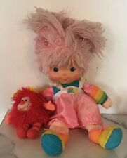 Vintage Rainbow Brite With Sprite Red 80's