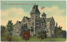 All Saints School in Sioux Falls SD Postcard
