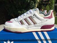 quality design bc8c4 7137f Adidas Tennis Super White Leather BNIB Size 8 Retro 80s Football Casual