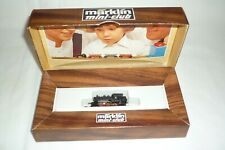MÄRKLIN mini club  - SPUR Z - 8800 - TENDER-DAMPFLOK - DB 89 006  OVP (20.EI-8)