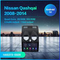 Autoradio GPS Android per Nissan Qashqai J10  2008 a 2013 stereo WIFI BT Radio