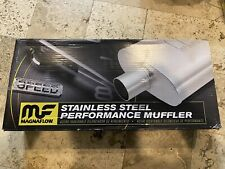 """MagnaFlow 2.5"""" Inlet/Outlet Stainless Steel Performance Muffler 11226"""