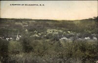 South Acworth NH General View c1910 Postcard
