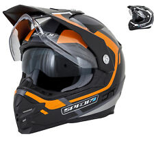 Spada Intrepid Beam Dual Sport Helmet Motorcycle Adventure Enduro Sun Visor