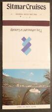 Sitmar Cruises . Match Book Cover . 1980's Ocean Liner Ship Boat Fairwind & Sea