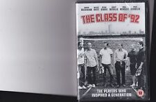 THE CLASS OF 92 DVD SEALED BECKHAM GIGGS SCHOLES NEVILLE BUTT MANCHESTER UNITED