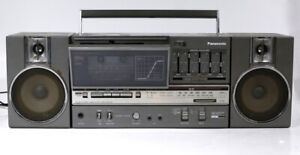 Vintage Panasonic RX-C45 RETRO BOOMBOX w/ Detachable Speakers