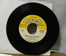 THE COASTERS CHARLIE BROWN / THREE COOL CATS 45 RPM RECORD
