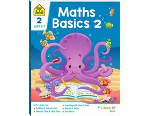 Educational Children Book Maths Basics 2 Activity School Zone Kids