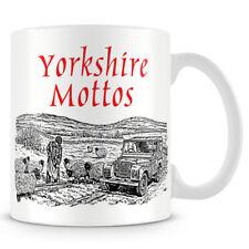 Yorkshire Mottos - Ceramic Coffee Mug – Makes an Ideal Gift