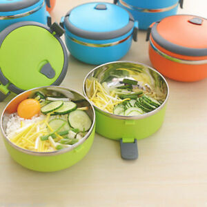 HOT POT 1 COMPARTMENT KIDS SCHOOL OFFICE WORK PICNICS CAMPING LUNCH BOX