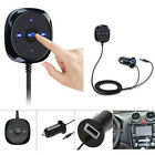 3.5mm Bluetooth Receiver BT to Aux Adapter Car Audio Kit + USB Charger