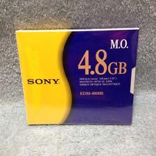 SONY EDM-4800B NEW SEALED  MO Media 4.8GB RW Optical Disk EDM-4800C 1 Piece
