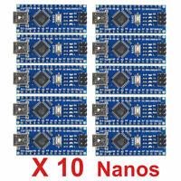 Multipack Compatible ATmega328P Pour Nano V3.0 5V 6PWM 16MHz Pour Aduino