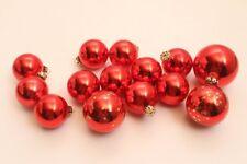 Rouge Boules de Noël Sapin Différentes Tailles