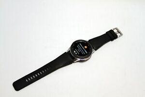 Samsung Galaxy Watch SM-R800 46mm Silver Case Classic Buckle Onyx Black -