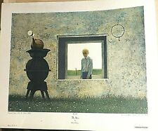 Robert Vickrey The Stove Serigraph Lithograph Print 23 X 28 Inches