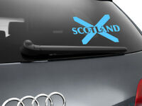 Scotland Flag Car Sticker Styling Decal Scottish Flag, Light Blue