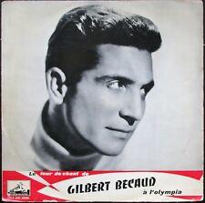 GILBERT BECAUD TOUR DE CHANT A L'OLYMPIA 25CM BIEM PATHE FDLP 1032
