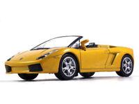 Lamborghini Gallardo Spyder Diecast Model Car 1/43 Scale 2006 Year Yellow Color