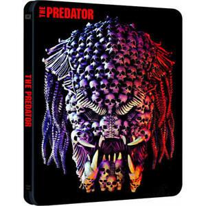 THE PREDATOR 4K Ultra HD Blu ray Steelbook - 2 Disc Set ( NEW ) REG B