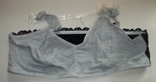 Jasmine and Ginger Set of 2 Black and White Bras L NWT