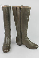Bottes KICKERS Cuir Marron Taupe T 38 BE