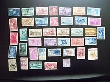 USA Used 1954-57 40 Different Commemoratives,