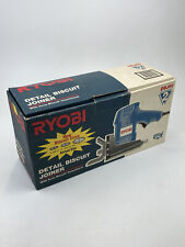 Ryobi DBJ50 Detail Biscuit Joiner Tool Tested Works With Box And Manual Booklet