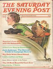 The Saturday Evening Post November 1976 Automobile Special w/ML VG 100516DBE