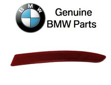 For BMW F10 5-Series Rear Passenger Right Reflector Bumper Cover Red Genuine