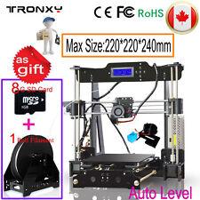 3D Printer DIY Kit Big Size Auto High Precision Reprap Prusa i3 LCD Melzi2.0+SD