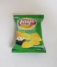 LAY'S CHIPS Classic Novelty FRIDGE MAGNET Indonesia RUMPUT LAUT Seaweed 2.5""