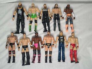 WWE Lot Of 11 Loose Wresting Figures