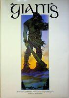 Vintage 1979 GIANTS by Julek Heller Carolyn Scrace & Juan Wijingaard 1st Ed HBDJ