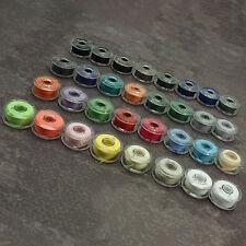 32 CB Nähmaschinenspulen - Spule für Nähmaschine - 20 x 10 mm Spulen Acryl NEU