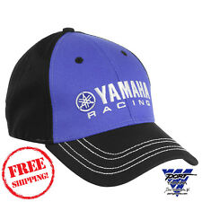 Yamaha Racing Finish Line Hat Baseball Cap CRP-13HRC-BL-NS