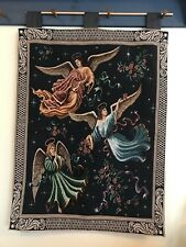 Tapestry 24x36 Angels On High Celestial