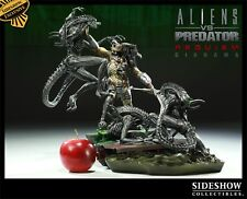 Sideshow Exclusivo Nuevo Avp Diorama Predator vs Alien Requiem Estatua Busto