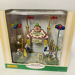 Lemax Village Collection Carnival Entryway Table Accent 2006 Retired 63580