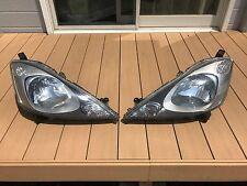 JDM 07-12 Honda FIT GE GE6 JAZZ GENUINE Headlihts Head Lights Lamps MUGEN OEM