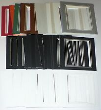 Lot Picture Photo Framing Supplies Mount Mat 50 Pack 5 x 7 Single V-Grooved