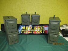 6 pack 50 Cal Ammo Can Steel Storage M2A1 6 Cans INSIDE NO RUST EXCELLENT