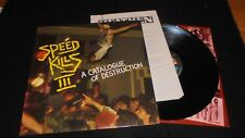 SPEED KILLS vol. 3 Under One Flag UK 1987 Death possessed bathory PROMO