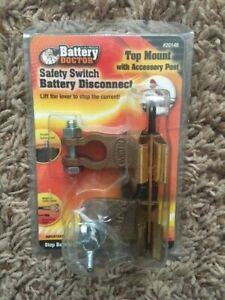 ~NEW~ BATTERY DOCTOR SAFETY SWITCH BATTERY DISCONNECT TOP MOUNT #20148