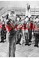 Foto Generalleutnant OMR Dr. Gestewitz Armeegeneral Hoffmann MMA DDR 15 x 10 cm