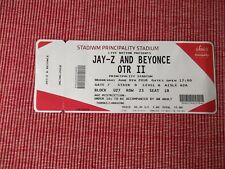 JAY-Z AND BEYONCE used tickets X1,6TH JUNE 2018,PRINCIPALITY STADIUM,CARDIFF,(4)