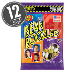 12 BEAN BOOZLED Jelly Belly Beans 3rd edition 1.9 oz Weird Wild 12x #102246B
