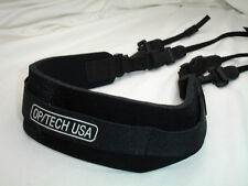 OPTECH USA Wide Quick release DOUBLE camera NECK STRAP, Neoprene