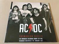 TASMANIAN DEVILS  by AC/DC  Vinyl Double Album  PARA204LP RARE LIVE TRACKS